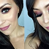 Fall Plum Smoky-Eye Tutorial