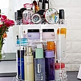 Rotatable Multi-Layer Cosmetic Storage Rack