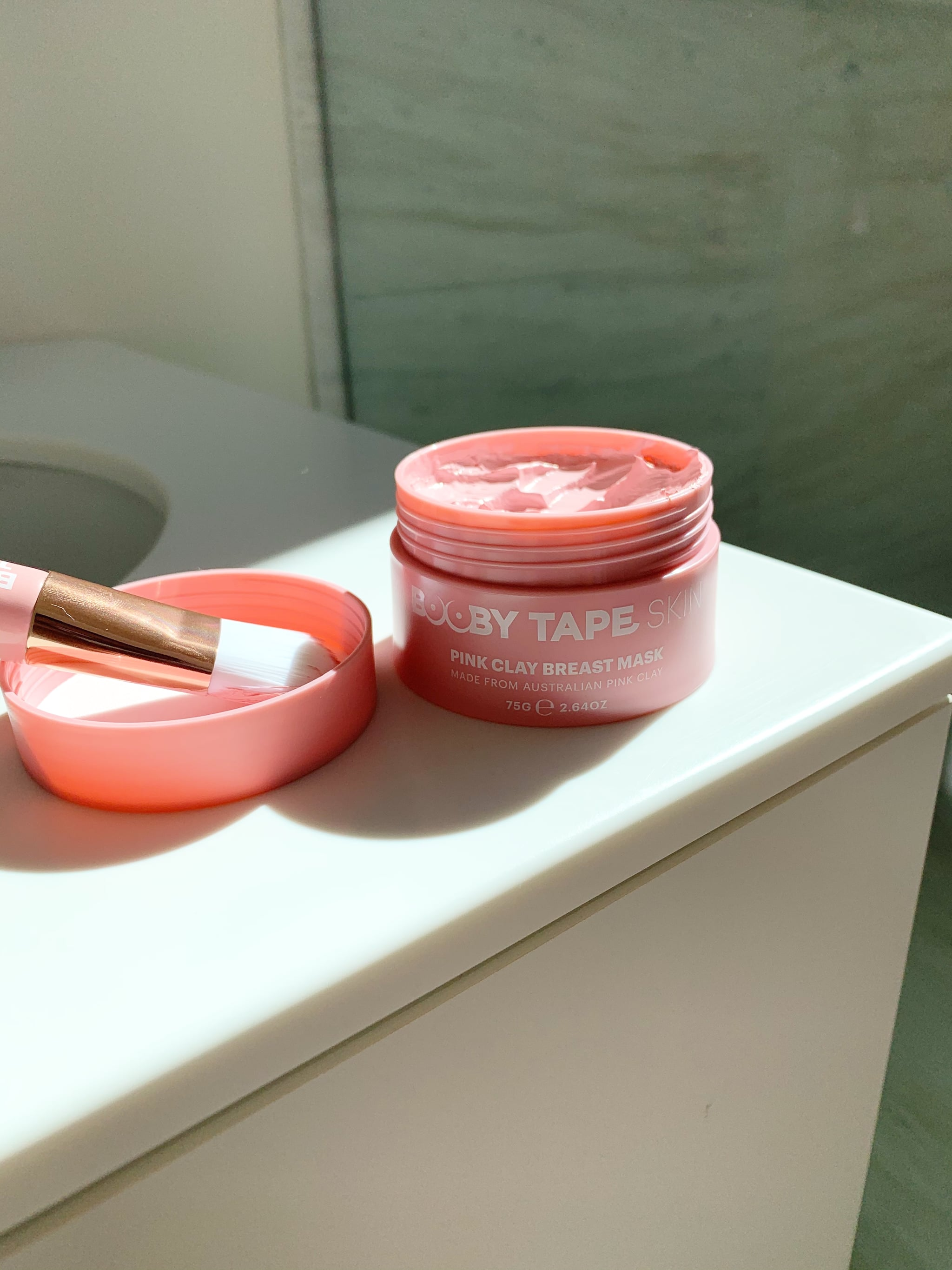 Booby Tape Skin Pink Clay Breast Mask Review 4