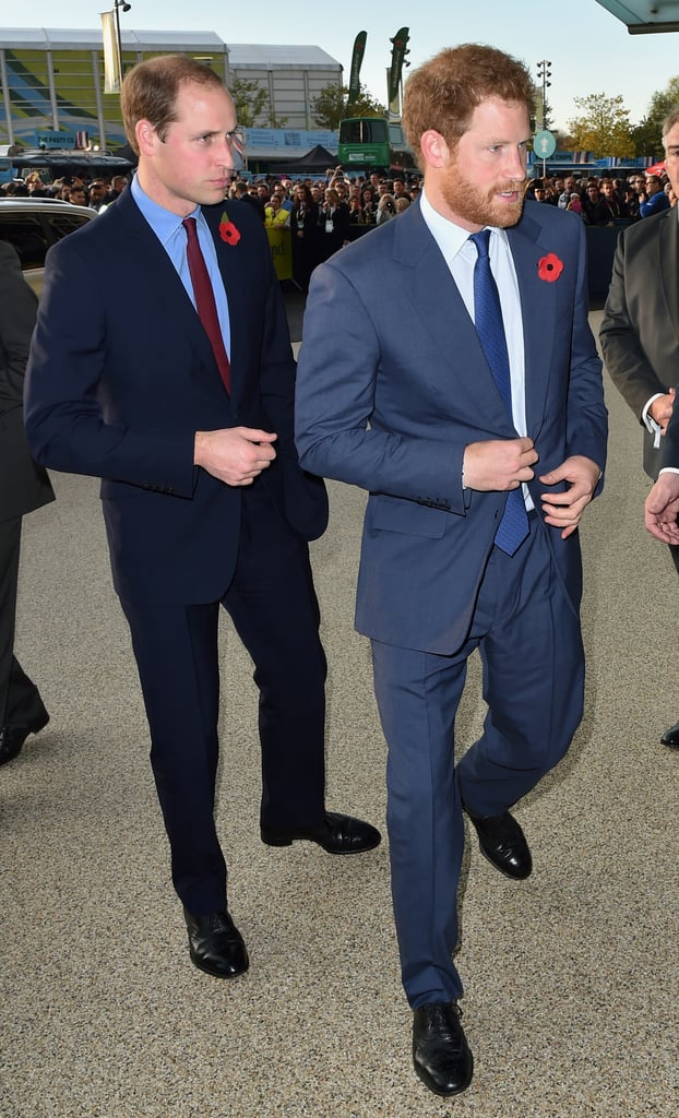 The men made an equally dapper appearance in London in October 2015.