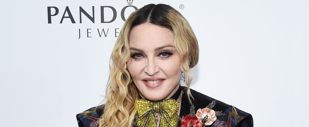 Madonna Has Fun With Instagram Filters While Getting a Facial