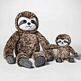 Plush with Rattle Sloth