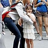 Katie Holmes and Suri Cruise went to MoMA.