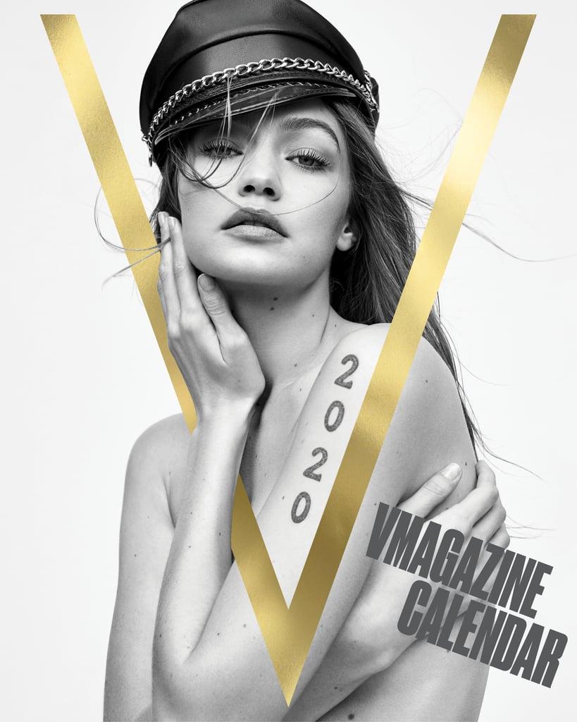 The V Magazine 2020 Calendar Cover