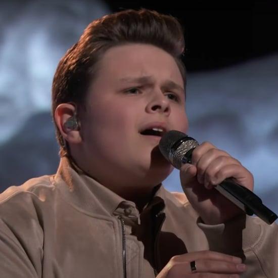 "The Voice: Carter Rubin's ""The Climb"" Performance"
