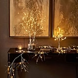 Lighted Artificial Twig Birch Tree