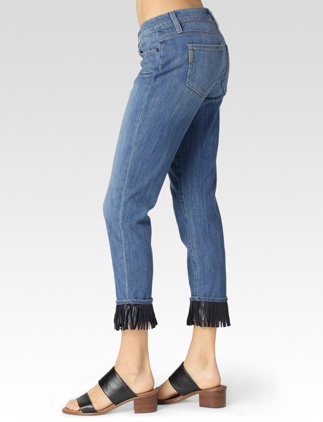 Paige Jimmy Jimmy Skinny 'Tempo' Fringe Jean ($299)