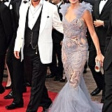 Johnny Depp and Penélope Cruz stepped onto the red carpet for the Pirates of the Caribbean: On Stranger Tides premiere during the 64th annual Cannes Film Festival in 2011.