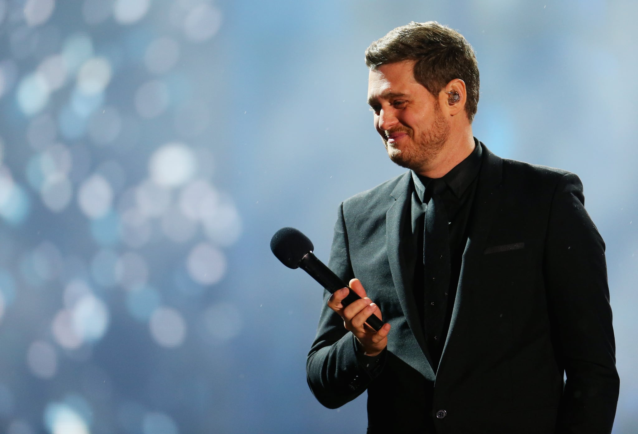 SYDNEY, AUSTRALIA - OCTOBER 5: Michael Buble performs at the Allianz Stadium on October 5, 2018 in Sydney, Australia. (Photo by Don Arnold / WireImage)
