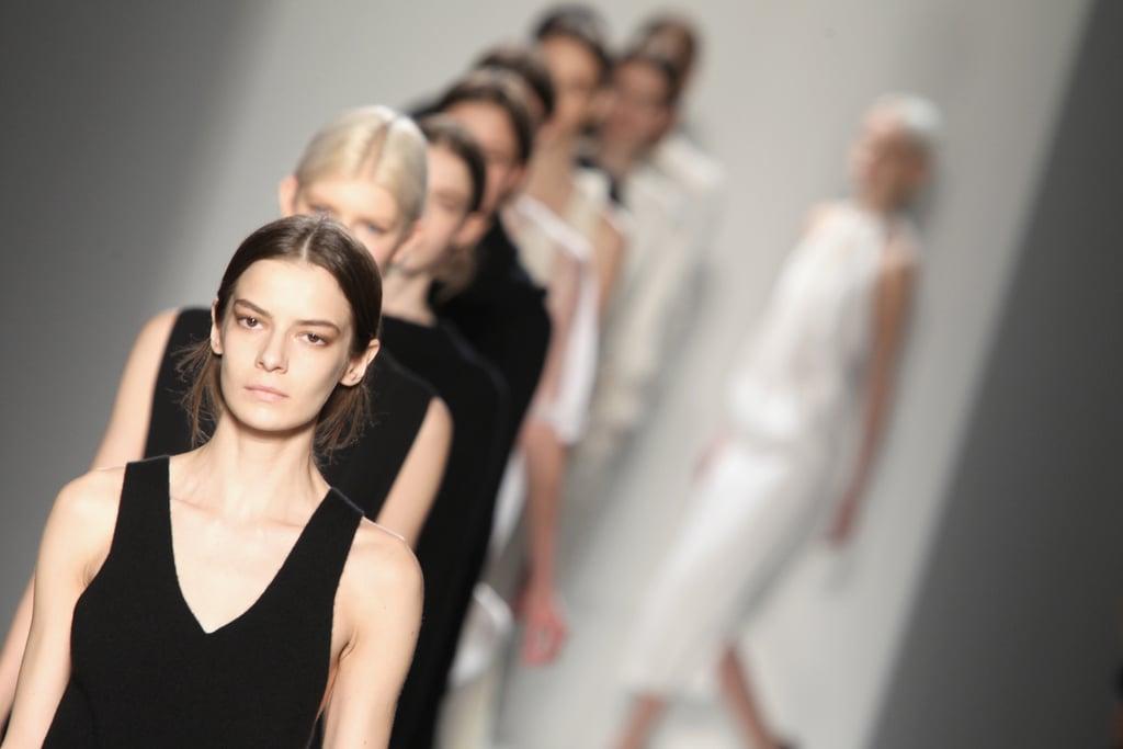 New York Fashion Week Victoria Beckham Fall 2014 Beauty