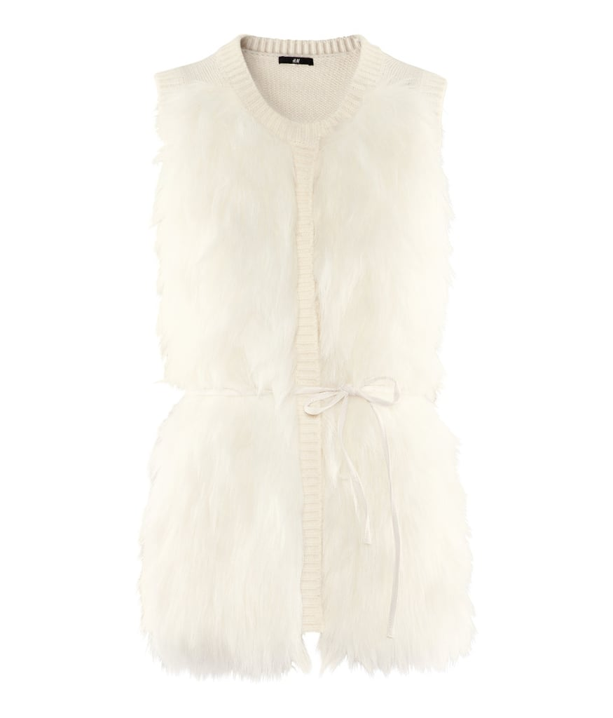 This furry H&M Vest ($20) is the perfect Winter warmer.