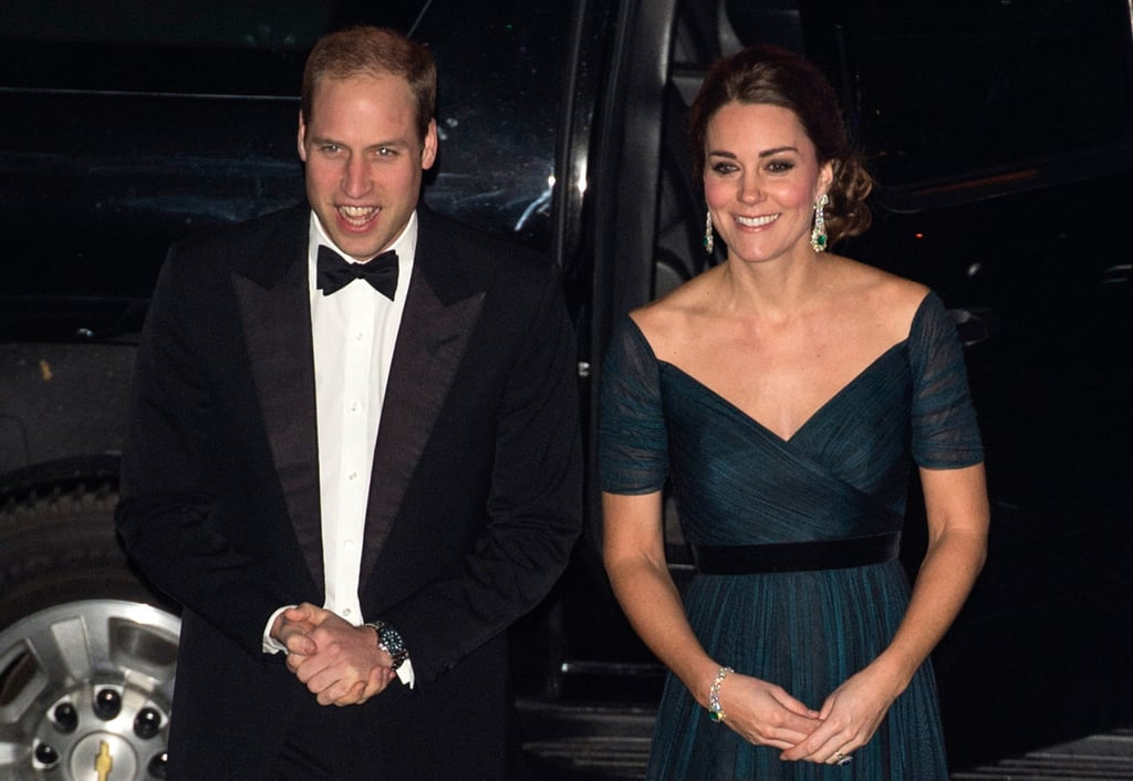 The Duchess of Cambridge Shows Off Her Baby Bump at a Superglam NYC Gala