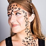 Find out exactly how to draw on your leopard spots with eyeliner in this tutorial.