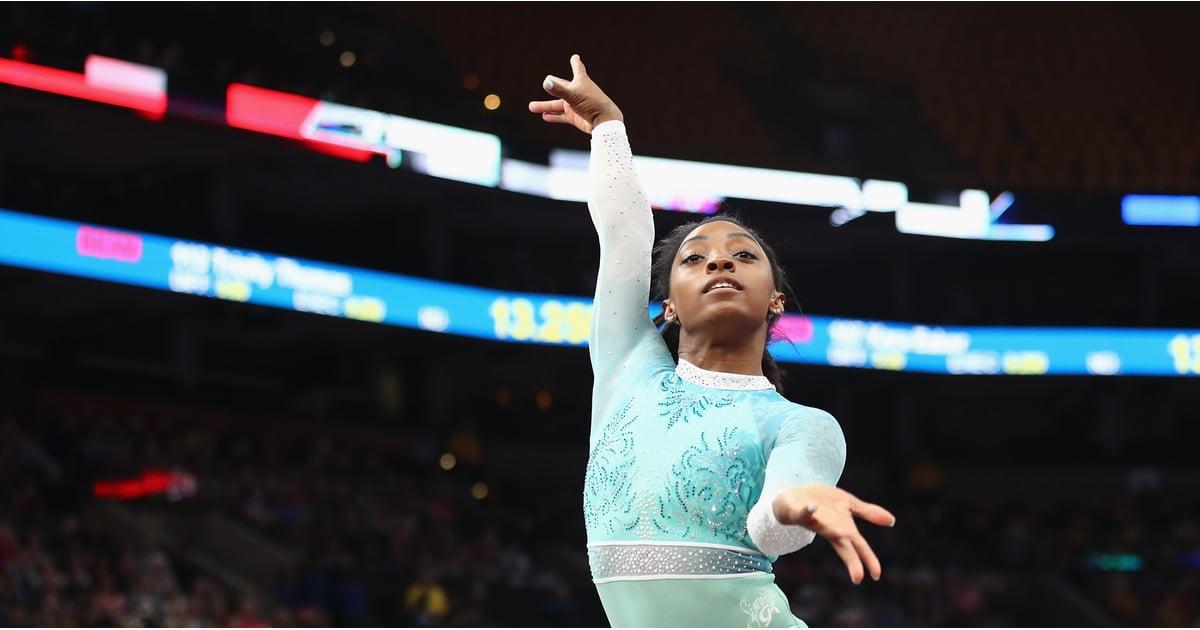 Simone Biles Us Championships 2018 Popsugar Fitness