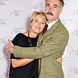 With Greg Wise