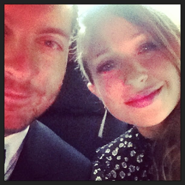 Jennifer Meyer snapped a photo while en route to the Cannes Film Festival with husband Tobey Maguire. Source: Instagram user jenmeyerjewelry