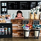Detailed Starbucks Newborn Shoot
