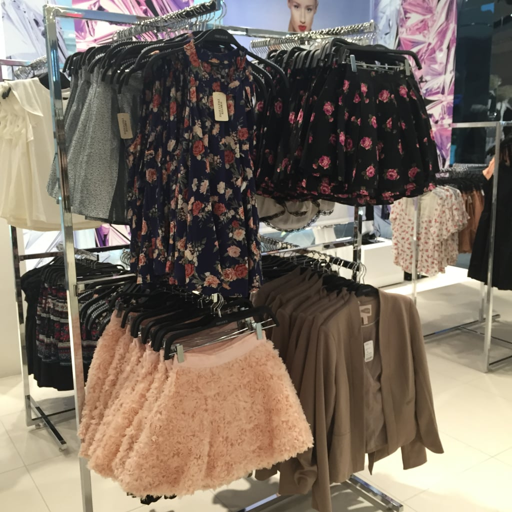 Floaty florals and tutu-esque skirts