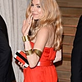 Sienna Miller at Vanity Fair Party