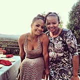 Christina Milian celebrated Mother's Day with a big outdoor brunch with her mom. Source: Instagram user christinamilian
