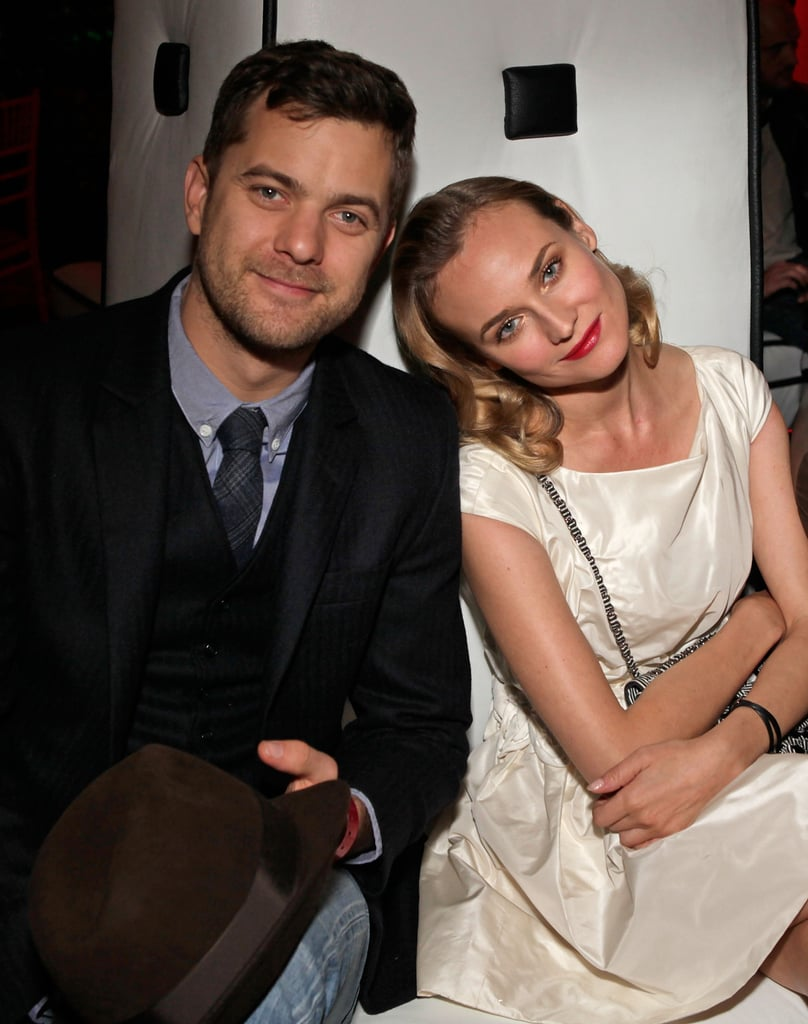 In December 2009, Diane Kruger rested her head on Joshua Jackson's shoulder at an Inglourious Basterds party in LA.