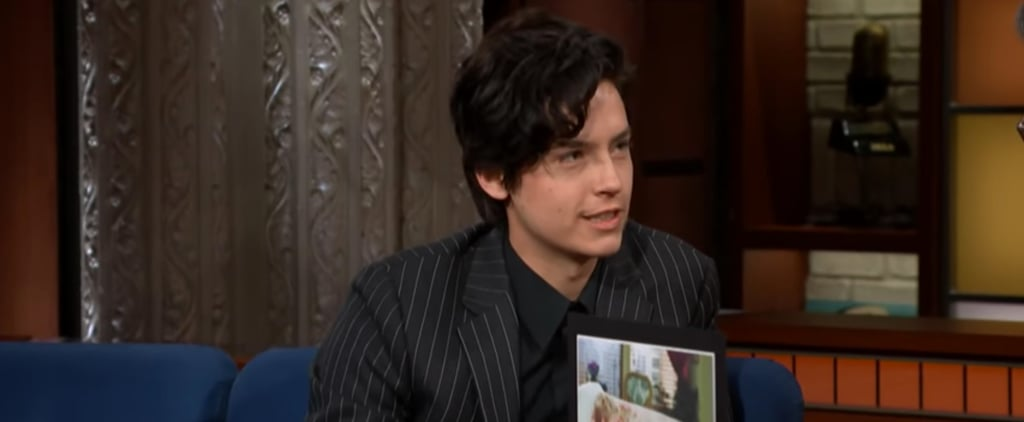 Cole Sprouse Talks About His Crush on Jennifer Aniston Video