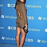 Sophia Bush showed some skin in a backless dress for CBS's Fall premiere party in LA.