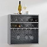 Antique Modular Wine and Glass Storage ($149)