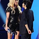 Lady Gaga as Man With Britney Spears at VMAs