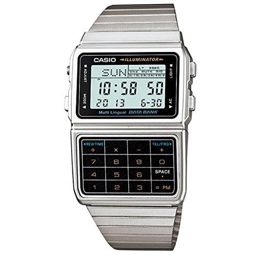 Casio Men's Silver Tone 25 Memory Calculator Watch | Best