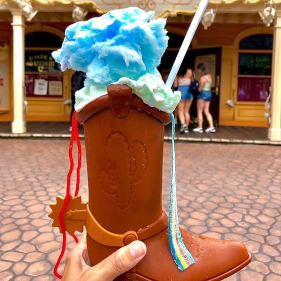 Bonnie's Toy Story Boot Float at Disneyland