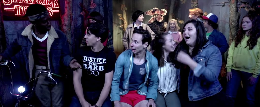 The Stranger Things Cast Surprising Fans at a Wax Museum