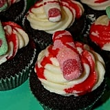 Severed Finger Cupcakes