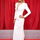 Catherine Tyldesley at the British Soap Awards in June 2018