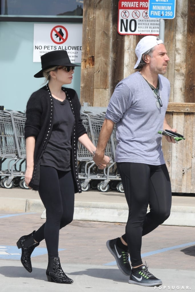 Lady Gaga and Christian Carino spent a casual afternoon in Malibu, CA, on Sunday. The couple, who got engaged last Summer, were photographed holding hands while hitting the grocery store. Gaga and Christian stopped to chat on the curb for a few minutes before heading inside to grab some food.  It's unclear where Gaga and Christian are currently at with their wedding plans, but it's easy to see that these two are head over heels in love. Earlier this month, the pair enjoyed a PDA-filled beach day, and back in January, the duo made their first official appearance as an engaged couple at the Grammys.       Related:                                                                                                           4 Things to Know About Christian Carino, the Man Lady Gaga Is Planning to Marry
