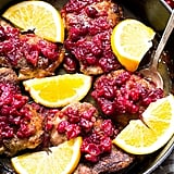 Whole30: Orange Cranberry Chicken