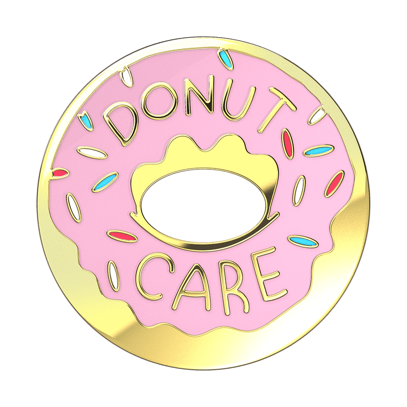 Donut Care Enamel PopSocket