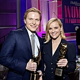 Ronan Farrow and Reese Witherspoon
