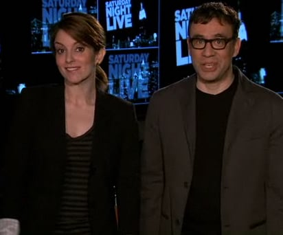 Watch Tina Fey Saturday Night Live Promos With Fred Armisen