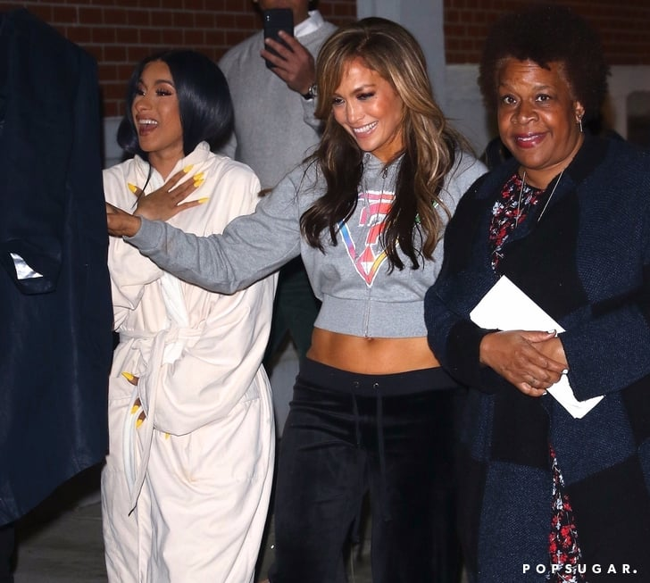 Jennifer Lopez Wears Spiritual Gangster While Out With Kids