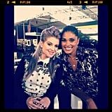 Kelly Osbourne caught up with Rachel Roy in NYC. Source: Instagram user rachel_roy