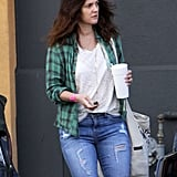 Drew Barrymore Steps Out Amid Talk of Teaming Up With Adam Sandler