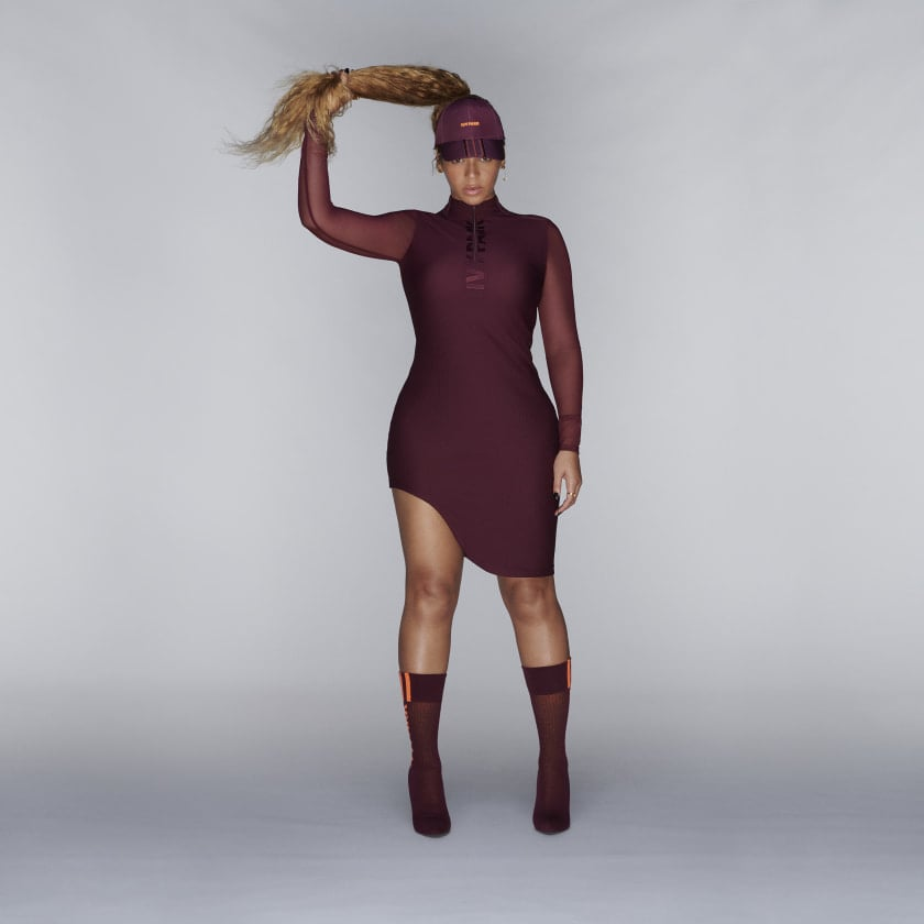 Adidas x Ivy Park Asymmetrical Dress