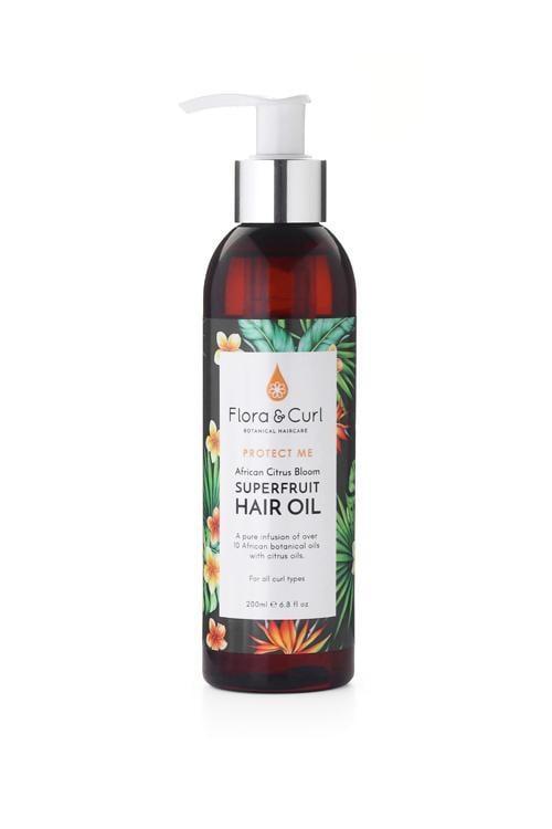 Flora & Curl African Citrus Superfruit Hair Oil