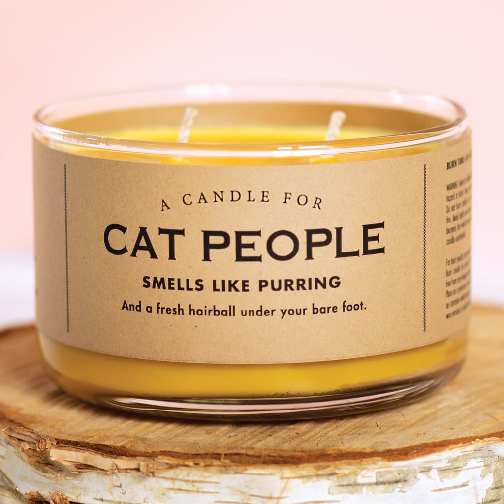 This Cat People Candle Is Perfect for Friends of Felines