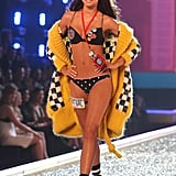 Miranda Kerr looked every bit the New York City landmark when she strolled the runway in 2007.