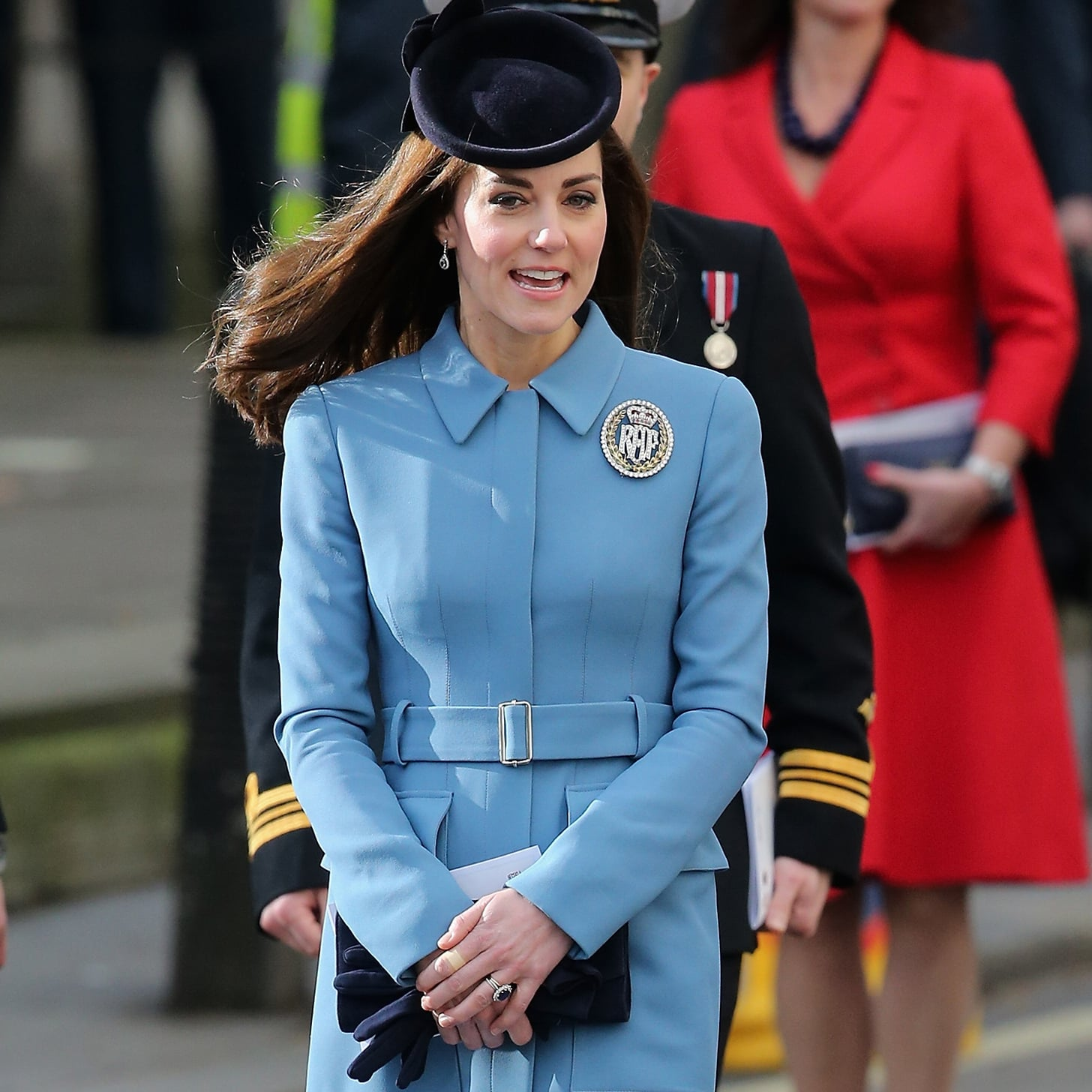Kate Middleton Wears a Diamond Brooch | 2016 | POPSUGAR Fashion UK