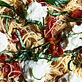 Burst Cherry Tomato Angel Hair With Lemon and Ricotta
