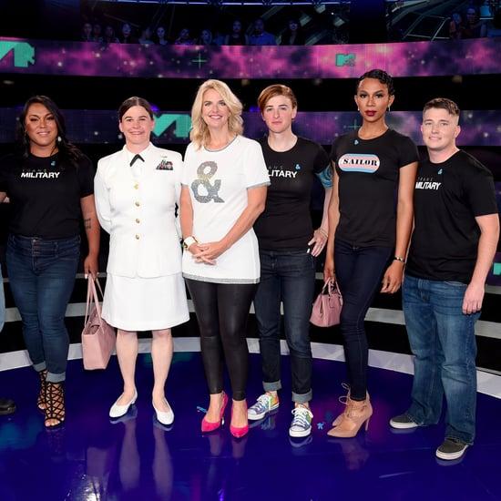 Transgender Military Members at 2017 MTV VMAs