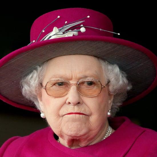 Queen Elizabeth II Frowning Pictures